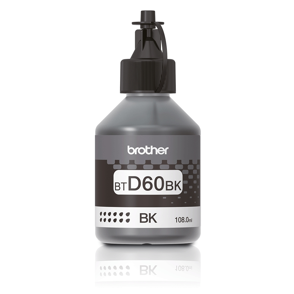 Консуматив Brother BT-D60 Black Ink Bottle  SN: BTD60BK