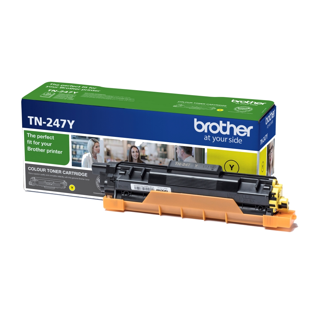Консуматив Brother TN-247Y Toner Cartridge  SN: TN247Y