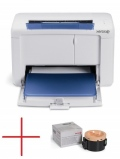 Xerox Phaser 3010, A4, Laser, 20ppm, max 30K pages per month, 64MB, GDI, USB + тонер за 1000 стр. 3010V_B+106R02180